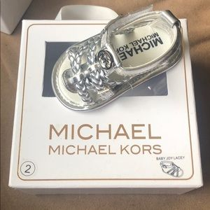 Michael Kors never been worn sandals!